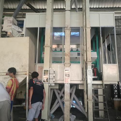 CCD Rice Color Sorter in Indonesia